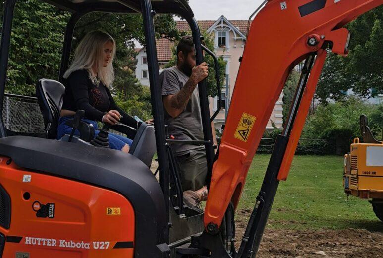 Umbau Gartensitzplatz